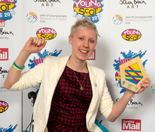 Year of Young People 2018 Champion of the Year – Rachael McCully
