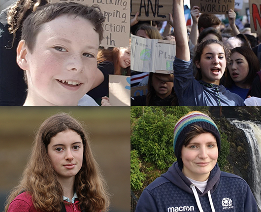 Young Scot 2020 – Scottish Youth Climate Strikers