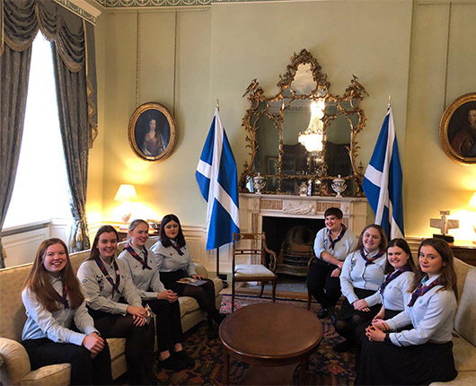 Girlguiding Scotland Speak Out Champions